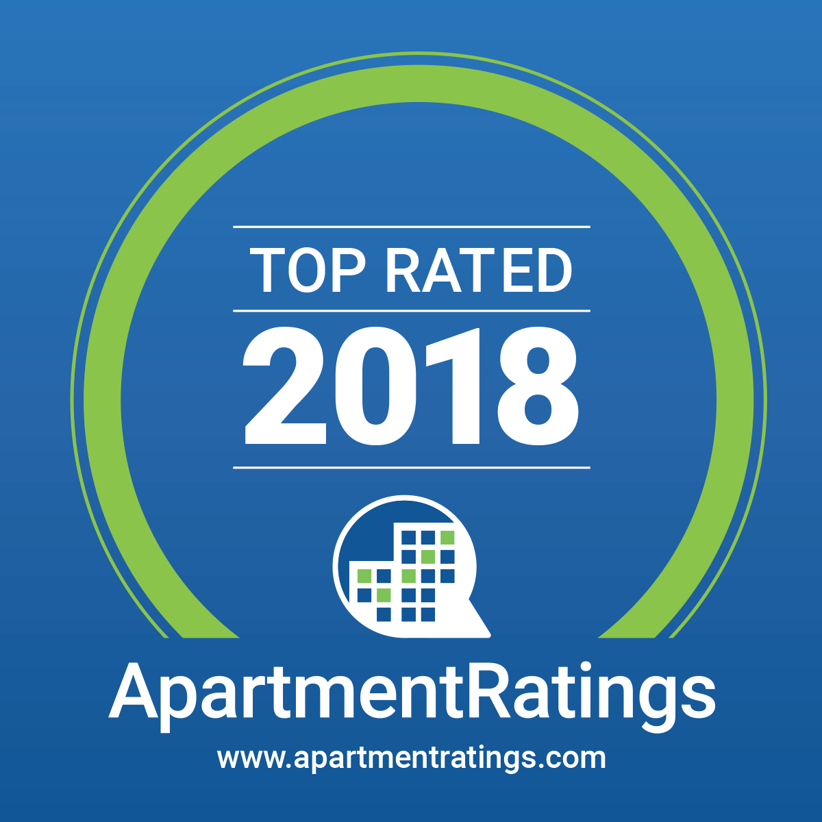 Top Rated 2018 ApartmentRatings